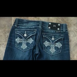 Miss Me Boot Cut Jeans size 27